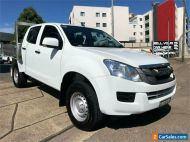2015 Isuzu D-MAX TF MY15 SX HI-Ride (4x2) White 5 SP AUTOMATIC Crew Cab Utility