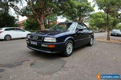 1995 Audi A4 2.6 V6 CONVERTIBLE. Rego and RWC 03/05/2021