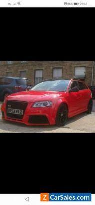 2011 Audi A3 (RS3 rep)