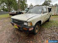 1989 Toyota Hilux 4x2 YN85R 2Y Petrol **NO RESERVE**