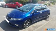 Damage repairable cars  2010 Honda Civic SI i-CDTI 2.2 Diesel -Cat N Damage