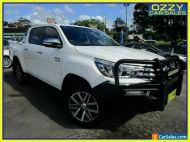 2017 Toyota Hilux GUN126R MY17 SR5 (4x4) White Automatic 6sp A Dual Cab Utility
