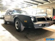 ~1976 Pontiac Trans AM bored to 454 , freshly built RHD 2 door coupe holden ford