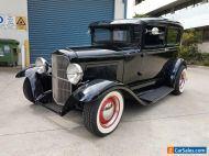 FORD 1931 A MODEL TUDOR 302 V8, HOT ROD, NOT DODGE, BEL AIR, MUSTANG CAMARO CHEV