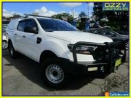 2016 Ford Ranger PX MkII XL 3.2 (4x4) White Automatic 6sp A Crew Cab Utility