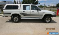 1996 TOYOTA HILUX SR5 DUAL CAB UTE 4x4 MANUAL 2.8 L Diesel