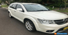 2013 DODGE JOURNEY R/T SUV MY13 AUTOMATIC 7 SEATS PEOPLE MOVER