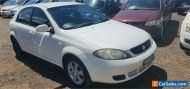 2008 Holden Viva JF MY08 Upgrade White Manual 5sp M Hatchback
