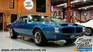 1973 Pontiac Firebird Formula 455 - rare muscle car - suit Camaro Mustang