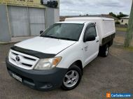 2006 Toyota Hilux TGN16R Workmate Manual M Cab Chassis