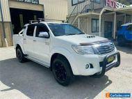 2014 Toyota Hilux KUN26R SR5 White Automatic A Utility