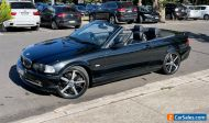 2003 BMW 3 Series E46 330Ci Convertible Steptronic 5sp Auto 3.0.L Sapphire Black