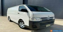 2012 Toyota HiAce TRH201R MY12 Van LWB 4dr Auto 4sp, 1085kg 2.7i White A Van