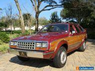 1984 AMC Eagle 4dr 4WD Wagon