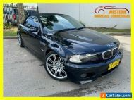 2003 BMW M3 E46 Convertible 2dr SMG 6sp 3.2i Black Automatic A Convertible
