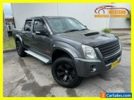 2008 Holden Rodeo RA MY08 LX Utility Crew Cab 4dr Man 5sp 4x4 1028kg 3.0DT Grey