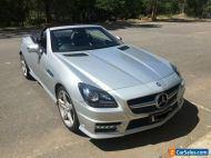 2014 Mercedes-benz SLK200 Convertible Bluefficiency Turbo Auto Paddle Shift