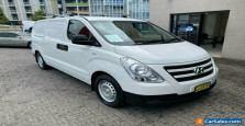 2016 Hyundai iLOAD TQ Series II (TQ3) White 5 SP AUTOMATIC Van