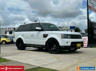 2012 Land Rover Range Rover Sport White Automatic A Wagon