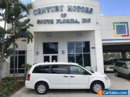 2008 Chrysler Town & Country LX Stow-N-Go Seating Rear A/C CD MP3 AUX