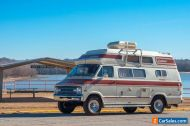 1977 Dodge B300 Tradesman Tradesman Coachmen Model Tee Camper Van
