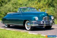 1949 Packard Super Eight Convertible Victoria