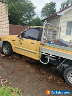 Ford Courier Ute - 1987 unregistered