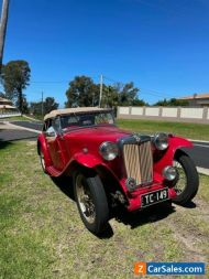 MG TC Roadster 1949 Original Car may suit MGA MGB collector & Vintage buyers