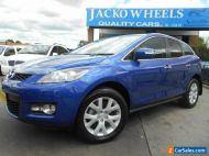 2007 Mazda CX-7 ER Luxury (4x4) Blue Automatic 6sp A Wagon