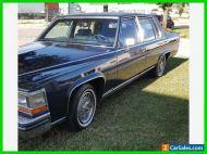 1986 Cadillac Fleetwood 4dr Sedan