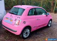2010 pink fiat 500
