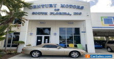 1998 Jaguar XK v8, VERY low miles, power convertible top, leather, 2 owner