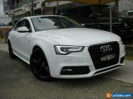 2015 Audi A5 8T MY15 Sportback 1.8 TFSI White Automatic A Hatchback