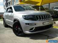 2015 Jeep Grand Cherokee WK MY15 SRT 8 (4x4) Silver Automatic 8sp A Wagon