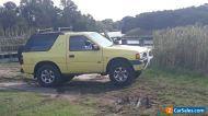 Holden Frontera Sport 4X4 Wagon 2 litre petrol  5Speed Manual Transmission