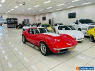 1968 Chevrolet Corvette Stingray Red Automatic 3sp A Roadster