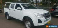 2017 Isuzu D-MAX TF MY17 SX HI-Ride (4x2) White Automatic 6sp A