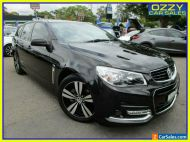 2014 Holden Commodore VF SV6 Storm Black Automatic 6sp A Wagon