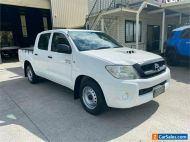 2010 Toyota Hilux KUN16R SR White Manual M Utility