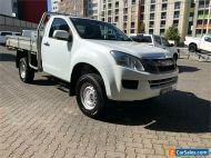 2014 Isuzu D-MAX TF MY14 SX (4x4) White Manual 5sp M Cab Chassis