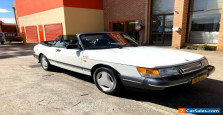 1988 Saab 900 TURBO Manual Convertible coupe # aero renault mg bmw mercedes
