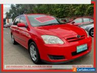 2006 Toyota Corolla ZZE122R Ascent Seca Red Automatic 4sp A Hatchback