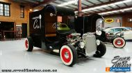 RHD Ford C-Cab Hot Rod - Promotional wagon van coffee or brewery business