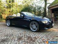 BMW 630i Convertible, 2008, petrol, Alpina Alloys, good condition, Dark Blue