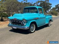 1957 CHEVROLET C3100 BIG WINDOW PICK UP TRUCK SUIT SPORTS COUPE BUYER COLLECTOR
