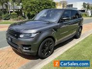 2017 Land Rover Range Rover Sport SDV6 HSE Dynamic Auto 4x4 $102,000