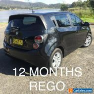 Holden Barina TM 2012 5 speed Manual, 12 months Rego, 5 door Hatch Neat and Tidy