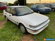 1992 Toyota Corolla hatch auto 213 kms grate first car sold with rwc