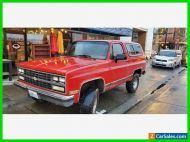 1990 Chevrolet Blazer 2dr 4WD SUV