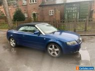 Audi A4 convertible 1.8 2 onwers service history